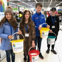 Fab four raise funds at ASDA!