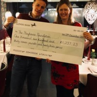 A colossal £1,237.23 raised by local Hampshire cyclist!