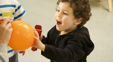 Who knew blowing up balloons could be so much fun!